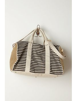 striped-&-sequined-weekender by anthropologie