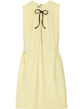 bow-detailed-twill-dress by marni