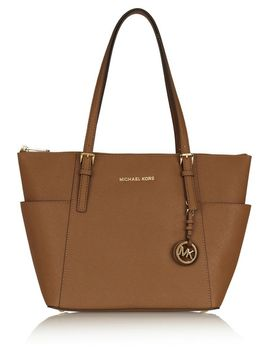 jet-set-textured-leather-tote by michael-michael-kors