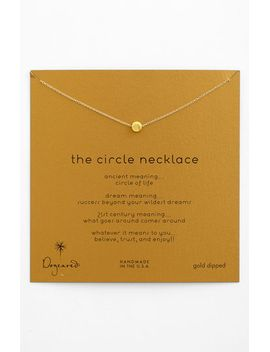 reminder---the-circle-pendant-necklace by dogeared