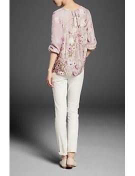 nwt-massimo-dutti---floral-silk-blouse---size-34 by ebay-seller