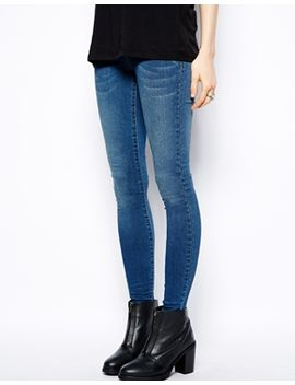 asos-jameson-low-rise-denim-jeggings-in-mid-wash-blue by asos-collection