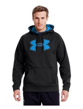 under-armour-mens-armour-fleece-storm-big-logo-hoodie by under-armour