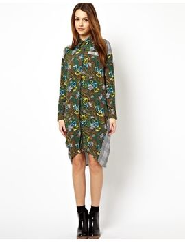 -with-mixed-paisley-print by asos-collection