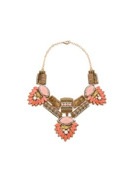 stone-statement-necklace by deepa-gurnani