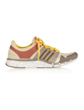 adipure-mesh-and-rubber-sneakers by adidas-by-stella-mccartney