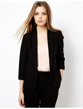 asos-longline-lapel-tailored-blazer by asos-collection