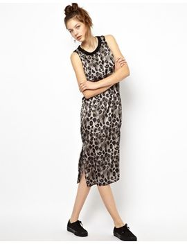 midi-dress-in-leopard-print by cheap-monday