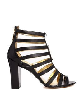 aramella-black-leather-gladiator-heeled-sandals by ted-baker