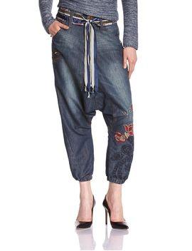 desigual-womens-turko-jeans,-dark-blue-denim,-medium-(28)(us-4) by desigual