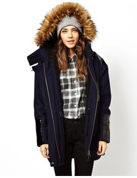 il-parka-with-stepped-hem by asos-collection