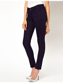 pieces-jegging-in-dark-denim by asos