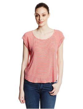 splendid-womens-stripe-mix-drapey-lux-short-sleeve-t-shirt,-canyon,-x-small by splendid