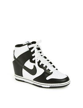 dunk-sky-hi-wedge-sneaker by nike