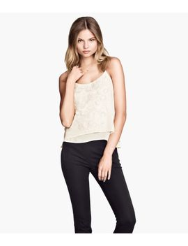 embroidered-top by h&m