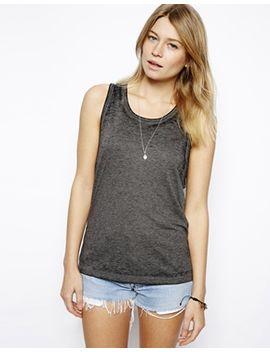 asos-tank-in-deconstructed-fabric by asos-collection