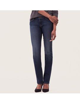 curvy-straight-leg-jeans-in-ornate-blue-wash by loft