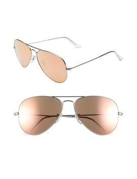 standard-original-58mm-aviator-sunglasses by ray-ban