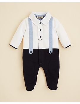 infant-boys-faux-suspender-footie---sizes-1-9-months by armani-junior