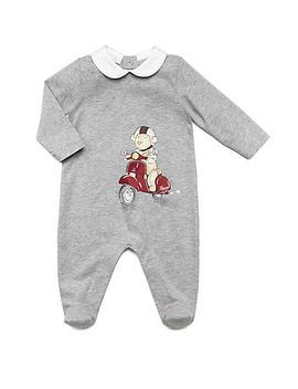 infants-teddy-scooter-footie by gucci