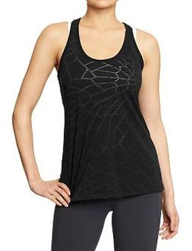 womens-old-navy-active-knotted-racerback-tanks by old-navy