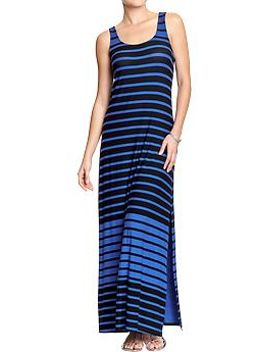 womens-printed-maxi-tank-dresses by old-navy