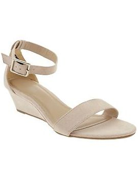 womens-sueded-demi-wedge-sandals by old-navy