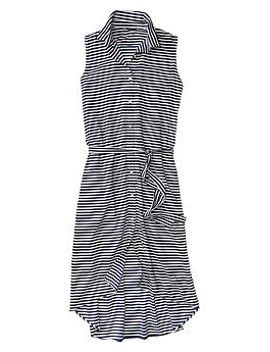 stripe-boyfriend-shirtdress by gap