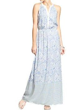 womens-halter-neck-maxis by old-navy