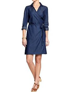 womens-chambray-dresses by old-navy