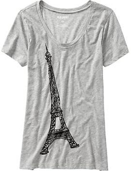 womens-paris-themed-graphic-tees by old-navy