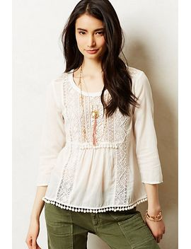 cottonwood-peasant-top by anthropologie