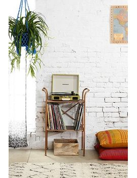 rustic-metal-side-table by urban-outfitters