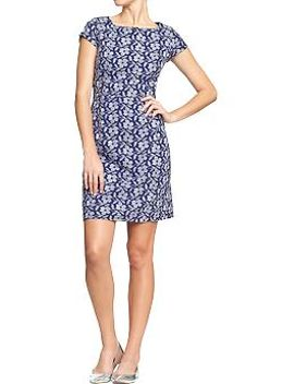 womens-embroidered-floral-shift-dresses by old-navy