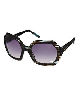karl-largerfeld-hexagonal-sunglasses by karl-lagerfeld
