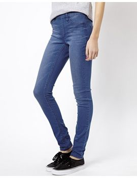 denim-jegging by esprit