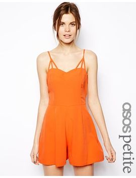 playsuit-with-multi-strap-detail by asos-petite