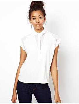 river-island-short-sleeve-boxy-shirt by asos