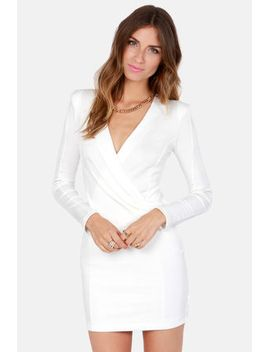 foreign-film-ivory-dress by lulus
