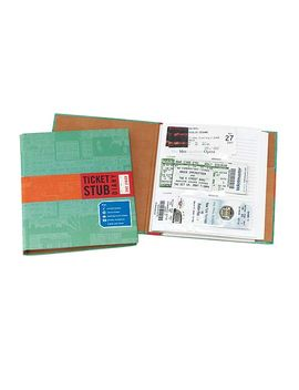ticket-stub-diary by uncommon-goods
