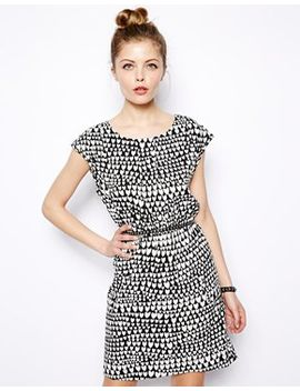 vila-heart-print-dress by vila
