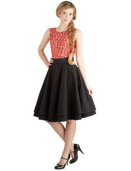 essential-elegance-midi-skirt-in-black by modcloth