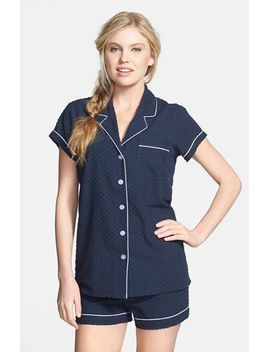 swiss-dot-short-pajamas by nordstrom