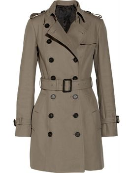 mid-length-cotton-gabardine-trench-coat by burberry