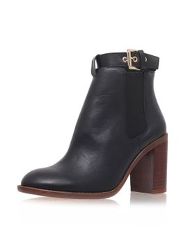 **high-heeled-leather-ankle-boots-by-kurt-geiger by topshop