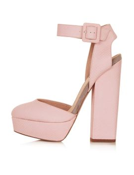 shelly-pink-cutout-platform by topshop