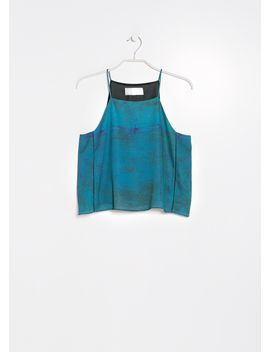 premium---watercolor-cropped-top by mango