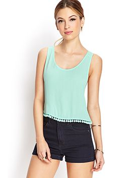 Mysterious Moment Tulip Back Top by Forever 21