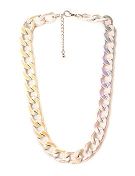 Forever Flashy Chain Necklace by Forever 21