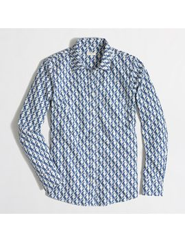factory-patterned-oxford-button-down-shirt by jcrew